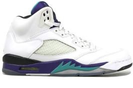 AIR JORDAN 5 RETRO GRAPE  2013 - (SIZE 11)