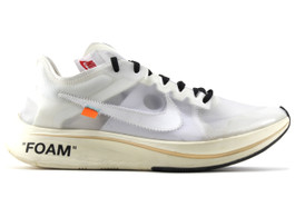 THE 10: NIKE ZOOM FLY OFF WHITE  (SIZE 8)