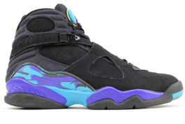 AIR JORDAN 8 RETRO AQUA 2007 (PRE OWNED) (SIZE 13)