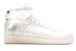 NIKE SF AIR FORCE 1 MID SILVER SAMPLE