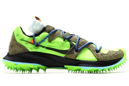 W NIKE ZOOM TERRA KIGER 5 / OW OFF-WHITE ELECTRIC GREEN