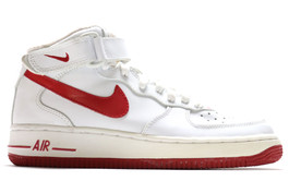 AIR FORCE 1 MID (GS) VARSITY RED