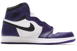 AIR JORDAN 1 RETRO HIGH OG COURT PURPLE 2020 (SIZE 9)