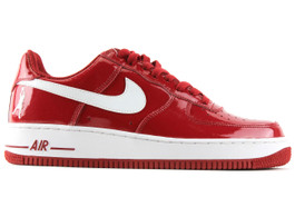 AIR FORCE 1 LOW SHEED VARSITY RED (SIZE 11.5)
