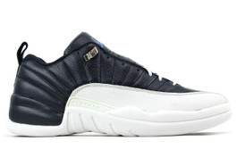 AIR JORDAN XII (12) RETRO LOW OBSIDIAN 2004 (SIZE 10.5)