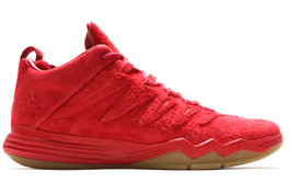 CP3 IX (9) RED SUEDE FRIENDS AND FAMILY (WORN ONCE)