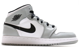 AIR JORDAN 1 MID (GS) SMOKE GREY
