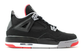 AIR JORDAN 4 RETRO (GS) BRED 2012