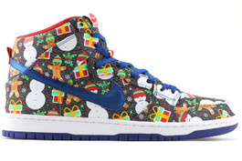 NIKE SB DUNK HIGH TRD QS CONCEPTS UGLY SWEATER 2017 SPECIAL BOX
