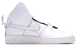 AIR FORCE 1 HIGH PSNY WHITE (SIZE 8.5)