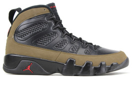 AIR JORDAN 9 RETRO OLIVE 2012  (SIZE 10)