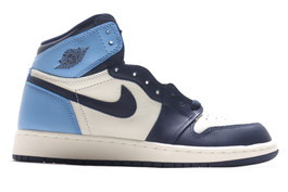 AIR JORDAN 1 RETRO HIGH OG (GS) UNC OBSIDIAN 2019