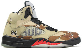 AIR JORDAN 5 RETRO SUPREME CAMO 2015 (SIZE 7)