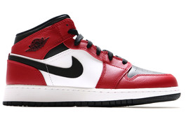 AIR JORDAN 1 MID (GS) CHICAGO BLACK TOE 2020