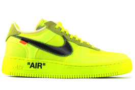 THE 10 : NIKE AIR FORCE 1 LOW NEON GREEN (SIZE 13)