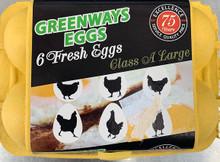 1/2 a dozen eggs
