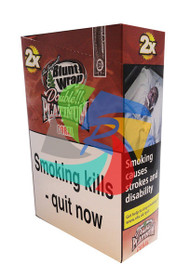 Coral (Formally Gin & Juice) Flavoured Double Packs Blunt Wraps - 25 pack (BL034)