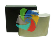 Plain 4oz Stainless Steel Hip Flask - singles (HF001)