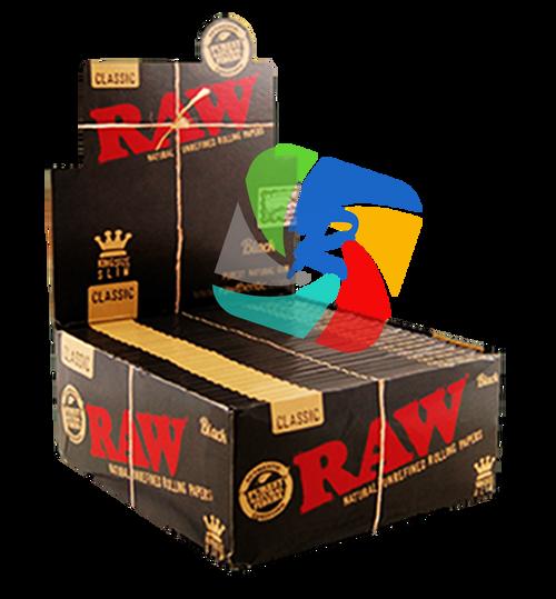 RAW Black kingsize ultra thin