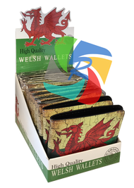 Welsh Design Money wallets (12pk)