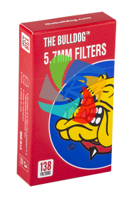 The Bulldog 5.7mm pop-A Filter Tips x138 filters
