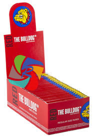 The Bulldog Regular Red Paper x50 Booklets