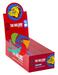 The Bulldog Regular Red Paper x25 Booklets