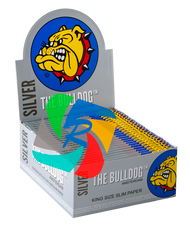 The Bulldog Kingsize Slim Silver x50 Booklets