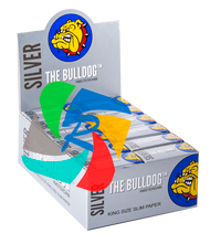 The Bulldog Rolls of K/S Slim Silver  x24 Rolls
