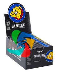 The Bulldog 1 1/4 Slim Black Paper x50 Booklets
