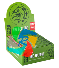 The Bulldog Kingsize Slim Green Paper x50 Booklets