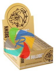 The Bulldog Kingsize Slim Unbleached Brown Paper x50 Booklet