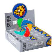 The Bulldog Filter Tip Silver  x50 Booklets
