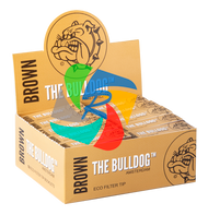 The Bulldog Filter Tip Brown Eco x50 Booklets