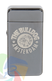 The Bulldog Plasma Lighter titanium Individual Lighters