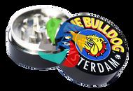 The Bulldog 40mm Black Metal 2 Part Grinder x12 individual
