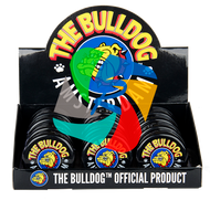 The Bulldog 60mm Black Plastic  3 Part Grinder  x12 individual