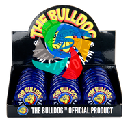 The Bulldog 60mm Blue Plastic 3 Part Grinder x12 individual
