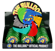 The Bulldog 60mm Green Plastic 3 Part Grinder x12 individual