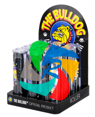 The Bulldog  Kingsize Plastic Rolling Machines (110 x 22mm) x12 individual