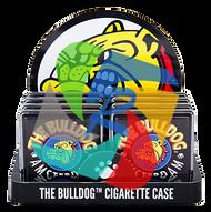 'The Bulldog' logo original Cigarette case x8 individual