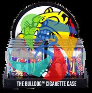 'The Bulldog' logo original Cigarette case. x8 individual in a display