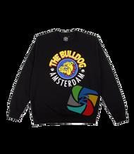 The Bulldog Sweater in Black