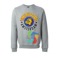 The Bulldog Sweater in Grey