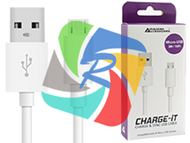Phone USB Charge & Sync Cable (Compatible with all micro USB)