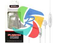 Fusion Audio Earphones with inline microphone