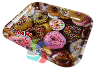 RAW  Large Metal Rolling Trays  - Donut