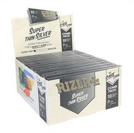 RIZLA COMBI PACK KINGSIZE SUPER SLIM PAPERS &TIPS (Pack Size: 24)