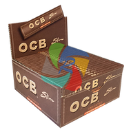 OCB - VIRGIN PREMIUM KINGSIZE SLIM ROLLING PAPERS (50 PER BOX)