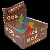 OCB - VIRGIN PREMIUM KINGSIZE SLIM ROLLING PAPERS (50 PER BOX)